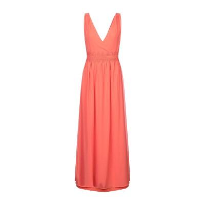 VILA ロングワンピース&ドレス オレンジ 42 ポリエステル 100% ロングワンピース&ドレス
