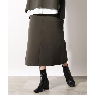 スカート 【洗える】ダンボールニットタイトスカート