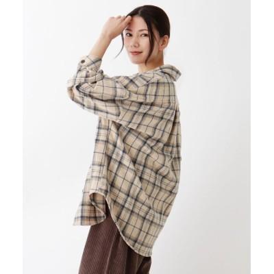 SHOO・LA・RUE/Cutie Blonde(シューラルー) 【M-LL】起毛チェックCPOジャケット
