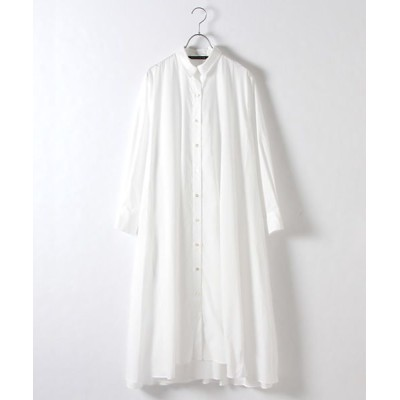 MARcourt/マーコート flared shirt OP o.white FREE