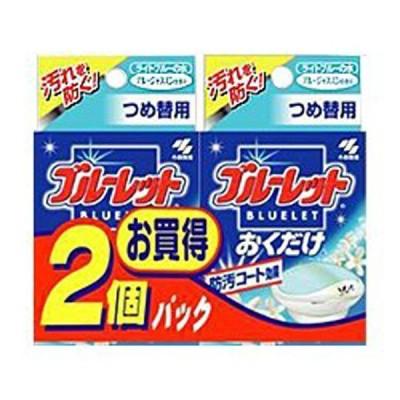 小林製薬 ブルーレットおくだけ ブルージャスミンの香り 詰替2個パック