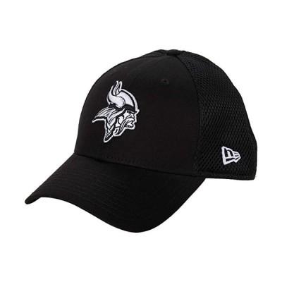 customerAuth NFL Stretch Fit Neo 3930 -- Minnesota Vikings メンズ 帽子 Black