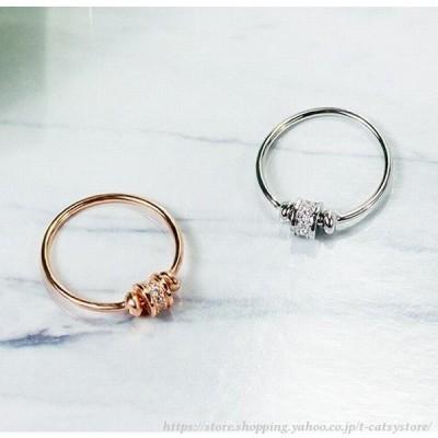 指輪 リング デザインリング レディース アクセサリー ジュエリー ラインストーン シンプル 上品 かわいい デート ギフト プレゼント 記念日