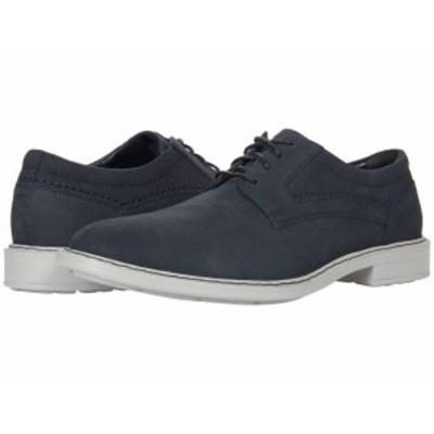 Rockport ロックポート メンズ 男性用 シューズ 靴 オックスフォード 紳士靴 通勤靴 Tanner Plain Toe Navy【送料無料】