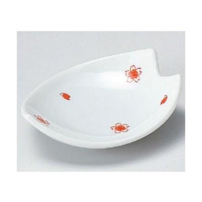 小皿 さくら桜鉢 高さ35mm×(手付・はみ出し部分含む)サイズ:116、口径:95/業務用/新品