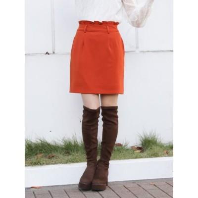 スカート クラシカルタイトミニスカート