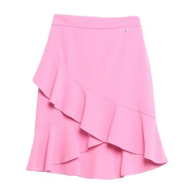 ANNARITA N TWENTY 4H ひざ丈スカート ピンク 42 ポリエステル 97% / ポリウレタン 3% ひざ丈スカート