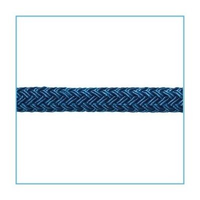 "1/2"" Samson Stable Braid Blue Bull Rope[並行輸入品]"