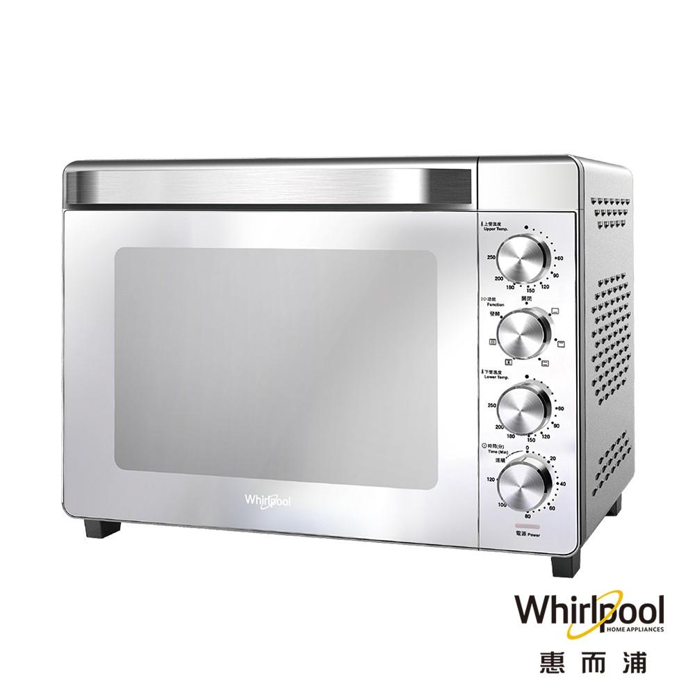 Whirlpool惠而浦 #32公升不鏽鋼機械式烤箱 #WTOM321S