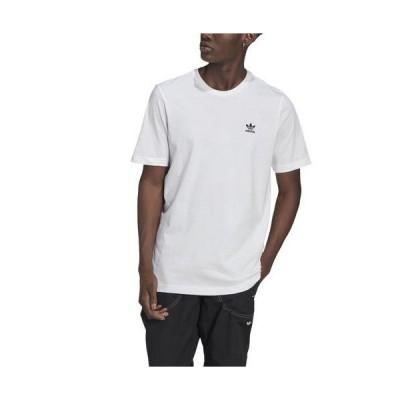 【本日限定point最大18倍!!】(取寄)アディダス オリジナルス メンズ エッセンシャル Tシャツ adidas originals Men's Essential T-Shirt White Black