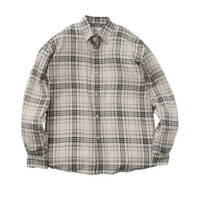 tk.TAKEO KIKUCHI(ティーケー タケオ キクチ)ナメラカチャックシャツ