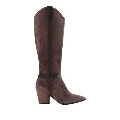 ブルーノ プレミ BRUNO PREMI ブーツ ブラウン 37 牛革(カーフ) 100% ブーツ