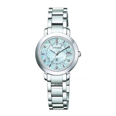 [シチズン] 腕時計 クロスシー Hikari Collection エコ・ドライブ電波時計 Titania Happy Flight 限定モデル 世界限定2