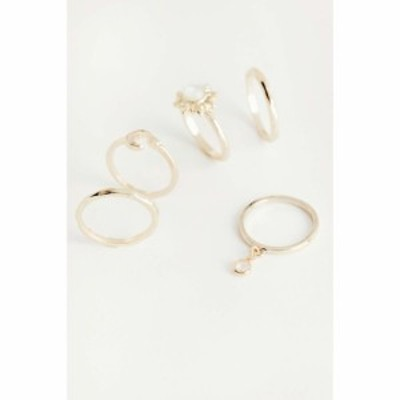 アーバンアウトフィッターズ Urban Outfitters レディース 指輪・リング ジュエリー・アクセサリー Sun Ring Set Gold