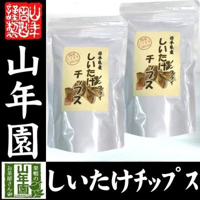 健康食品 国産 しいたけチップス 30g×2袋 送料無料