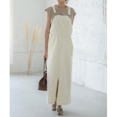 La-gemme / ロングジャンパースカート WOMEN オールインワン・サロペット > サロペット/オーバーオール
