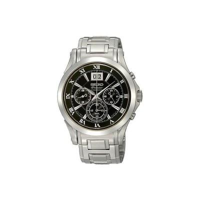 セイコー New Seiko メンズ Gents Premier クロノグラフ ステンレス スチール ブレスレット 腕時計 SPC057