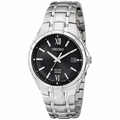 腕時計  【デッドストック/アウトレット品】SEIKO(セイコー) SOLAR/ソーラー SNE215 ブラック ステンレスベルト メンズウォッチ 腕時計