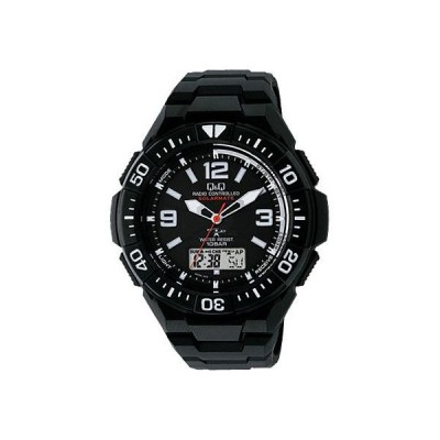 シチズン Q&Q コンビネーション 電波ソーラー メンズ腕時計 MD06-305