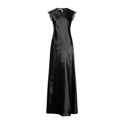 フィロソフィ ディ ロレンツォ セラフィニ PHILOSOPHY di LORENZO SERAFINI ロングワンピース&ドレス ブラック 42