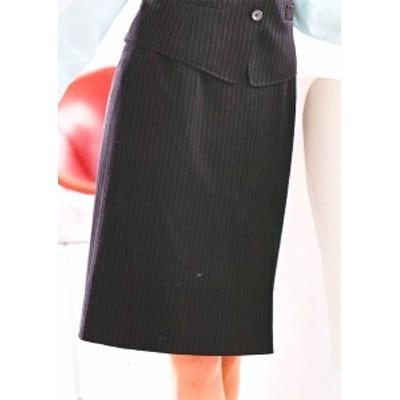 S-15560 タイトスカート(52cm丈) ブラック 全1色 (セロリー SELERY クレッセ 事務服 制服)