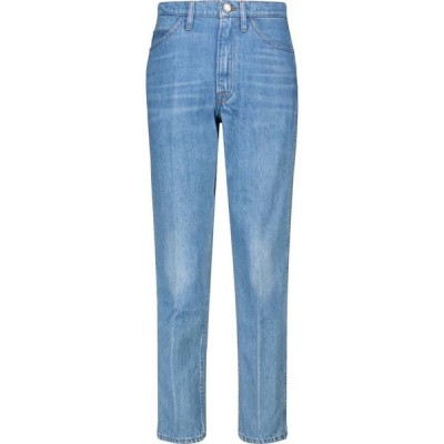 フレーム Frame レディース ジーンズ・デニム ボトムス・パンツ Le Italien high-rise straight jeans Pure Blue