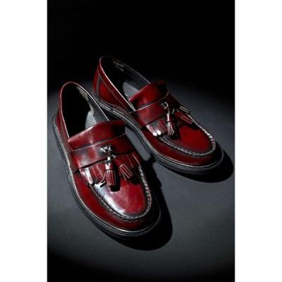 アーバンアウトフィッターズ Urban Outfitters メンズ ローファー シューズ・靴 UO Carter Tassel Loafer Maroon