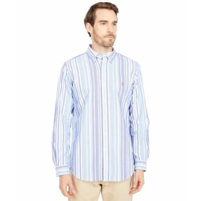 ラルフローレン シャツ トップス メンズ Classic Fit Long Sleeve Oxford Shirt Run On Multi