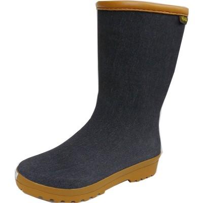 福山ゴム マイローズ#22 ブラック 軽量柔軟ラバー(婦人長靴)  22.5-25cm