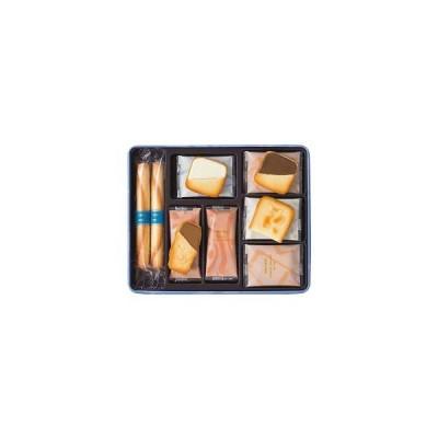 三越伊勢丹 YOKU MOKU(ヨックモック) プティサンクデリス 1缶(4本+27枚入)  伊勢丹の紙袋付き 手土産ギフト 洋菓子