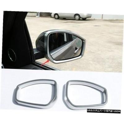 エアロパーツ 2PCS ABSバックランドローバー・レンジローバーイヴォーク2012年から2019年のためにドアのサイドミラーカバートリム 2PCS ABS Rearview