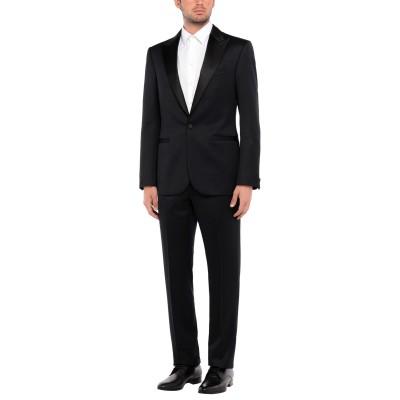 VERSACE スーツ ブラック 48 ウール 100% / シルク スーツ