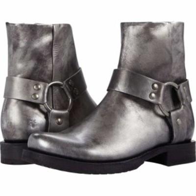 フライ Frye レディース ブーツ シューズ・靴 Veronica Harness Short Silver Full Grain Metallic