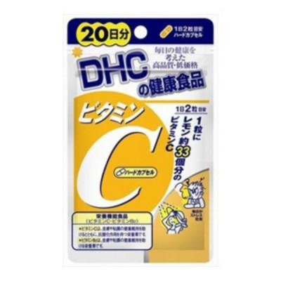 【メール便送料無料】 DHC ビタミンC ハードカプセル 20日分 40粒入 1個
