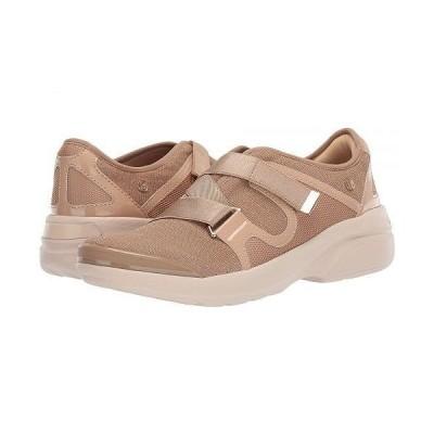 Bzees レディース 女性用 シューズ 靴 スニーカー 運動靴 Offbeat - Beige Sterling Mesh