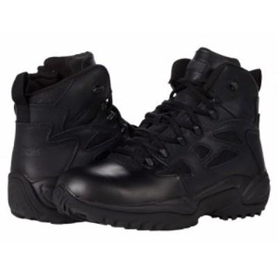Reebok Work リーボック メンズ 男性用 シューズ 靴 ブーツ ワークブーツ Rapid Response 6 Black【送料無料】