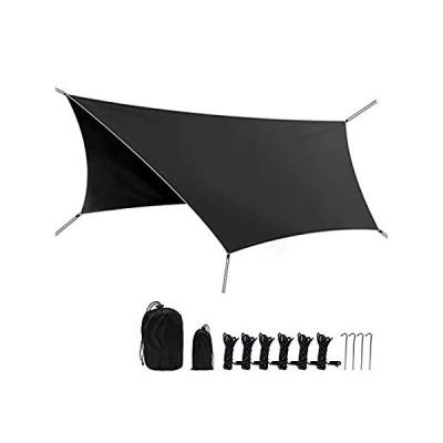 アメリカ直輸入品Phiroop Camping Tarp Waterproof Rain Fly Tent Shelter Essential Survival Ge送料込み!