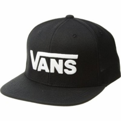ヴァンズ Vans メンズ キャップ スナップバック 帽子 Drop V II Snapback Black/White