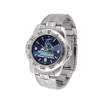 San Diego TorerosスポーツスチールAnochromeメンズ腕時計