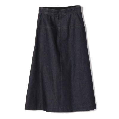 (SHIPS WOMEN/シップス ウィメン)Nell:デニムAラインスカート/レディース ネイビー