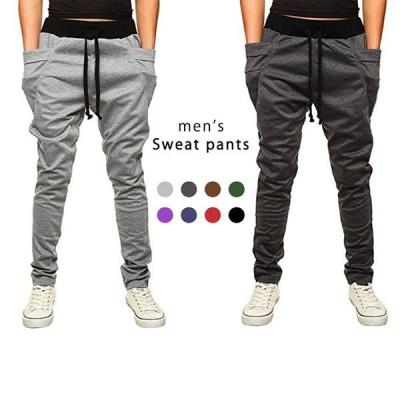 ジョガーパンツ パンツ スウェットパンツ メンズ 男性 ルームウェア ドロストパンツ ユニセックス フィットネス スポーツ 部屋着 美脚パンツ