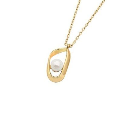 真珠のネックレスゴールデン925ネックレス不規則な女性の真珠のネックレス誕生日プレゼント