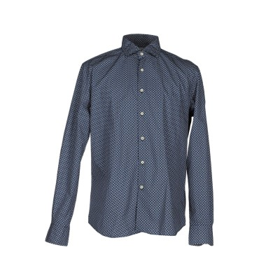 XACUS シャツ ブルー 39 コットン 100% シャツ
