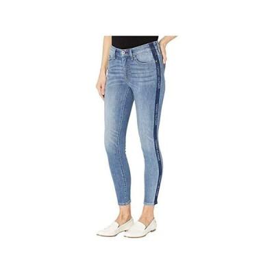 トミー・ヒルフィガー Bleach Stripe Jeans in Denim レディース ジーンズ Denim