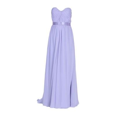 EUFORIA ロングワンピース&ドレス ライラック 44 ポリエステル 100% ロングワンピース&ドレス
