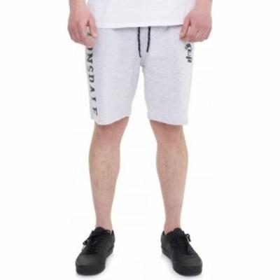 ロンズデール Lonsdale メンズ ショートパンツ ボトムス・パンツ - Knutton Light Marl Grey - Shorts grey