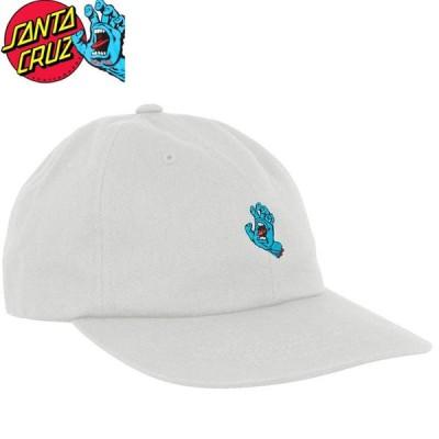サンタクルーズ SANTA CRUZ キャップ SCREAMING HAND STRAPBACK HAT ホワイト NO38