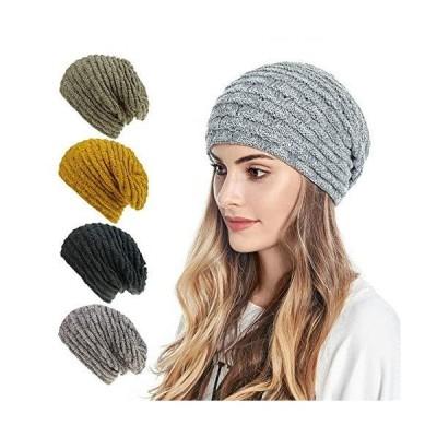 Nother SAYW 冬 アウトドア 暖かいニット帽 ソフトで伸縮性のあるビーニー ライディングハット 暖かく厚手のスキーハット ウィンターギフト