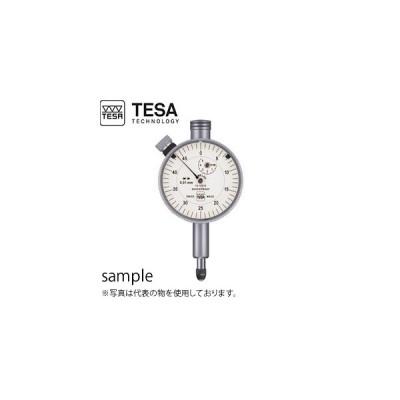 TESA(テサ) No.01412010 精密ダイヤルゲージ φ40mm 時計回 標準品質 標準モデル DIAL INDICATOR YE 40/0.01