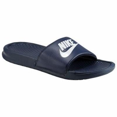 NIKE ナイキ サンダル メンズ ベナッシ JDI スライド Nike Men's Benassi JDI Slide Midnight Navy Windchill
